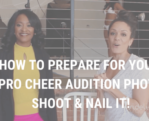 How to Prepare for your Pro Cheer Audition Photo Shoot and Nail It