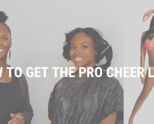How to get the Pro Cheer Look