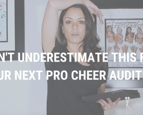 Don't Underestimate THIS for Your Next Pro Cheer Audition