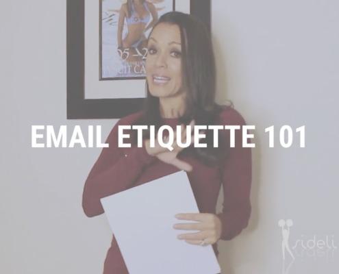 Email Etiquette 101