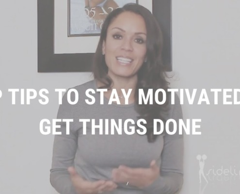 Top Tips to Stay Motivated to Get Things Done