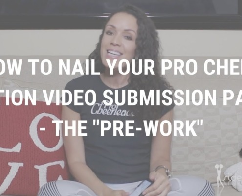 Pro Cheer Audition Video Submission Part lll