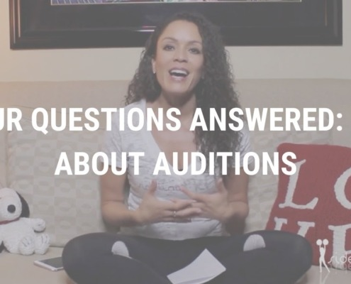 Your Questions Answered All About Auditions