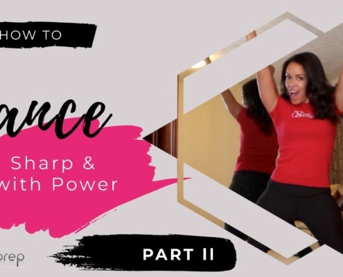 Dance Sharp and With Power - Motion Drills to Improve Your Performance